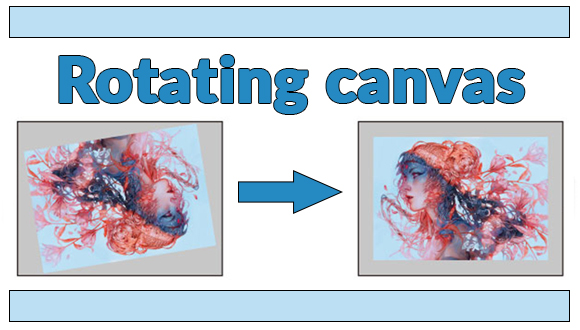 Rotating Canvas: For Inline Drawing