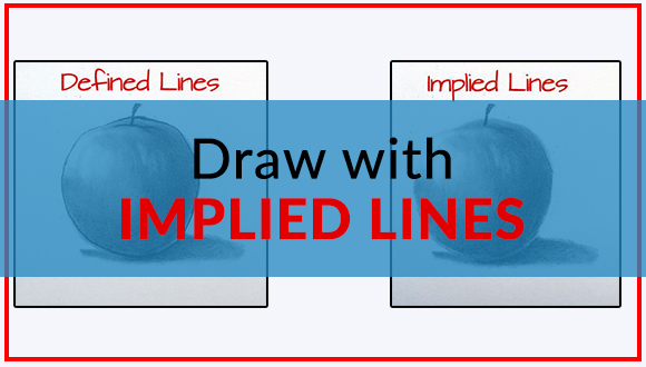 Draw with implied lines