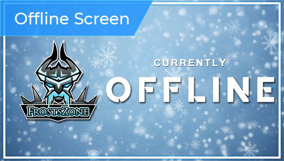 offline screen to the twitch overlay