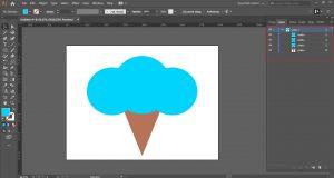 combine shape tool illustrator