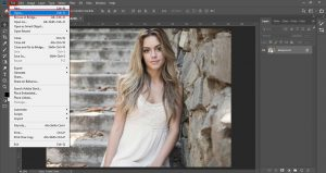 How to Open An Image Adobe Photoshop