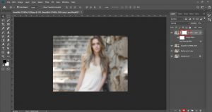 Blur With Layer Mask | Blur With Layer Mask