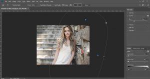 set blur amount using Blur Tools