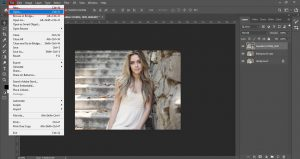 how to blur photo background in photoshop