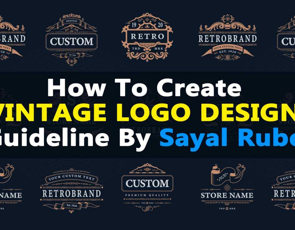 How to Create Vintage Logo Design